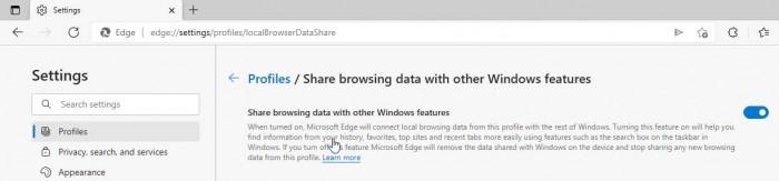 Win10请求用户放行Edge数据追踪 以投放个性化广告
