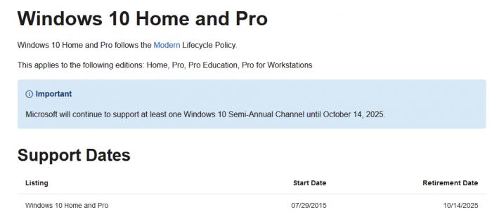 微软称将在2025年停止支持Win10的照片 - 2