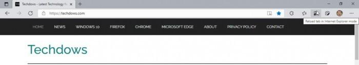 Microsoft Edge 92可以更容易地在IE模式下加载网站的照片 - 5