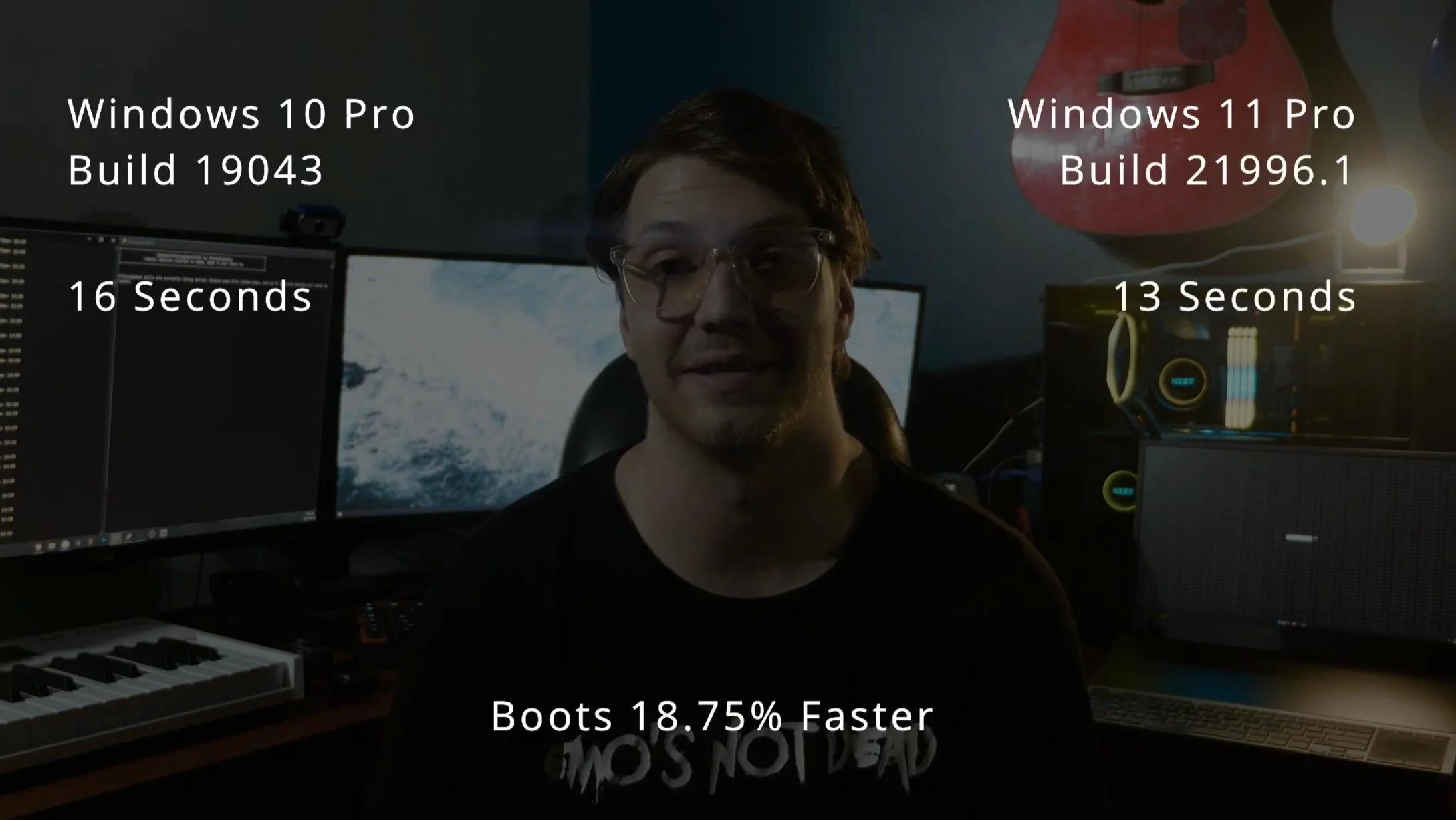 早期基准测试结果表明Win11的性能比Win10最多高15%的照片 - 1