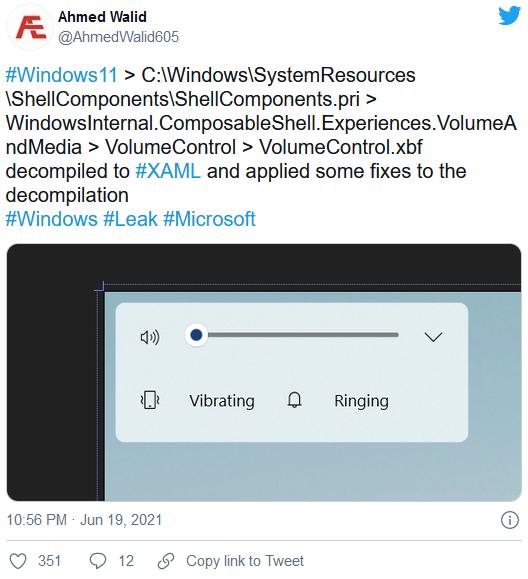 Windows 11弹出音量控件未来这可能是这种样式的照片 - 2