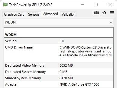 Win11包括对WDDM 3.0显示驱动模型的支持