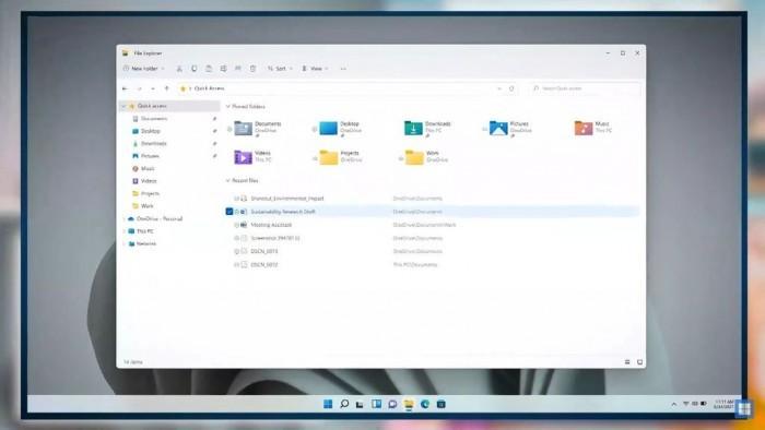 Win11升级文件管理器:引入全新UI 优化触控体验的照片 - 3