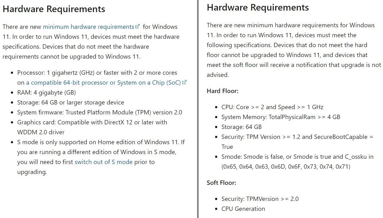 微软修正了软性条件的提法 依然以TPM 2.0为Win11的最低规格的照片 - 2