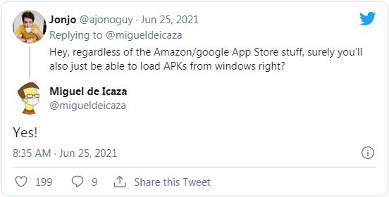 微软允许用户在Windows 11上侧载Android APK安装包的照片 - 3
