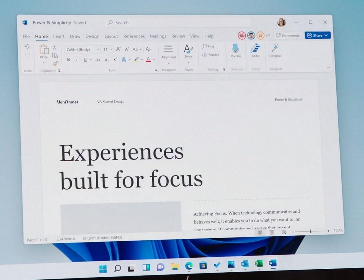 Office 2021曝光:微软新设计用户界面看起来令人振奋的照片 - 3