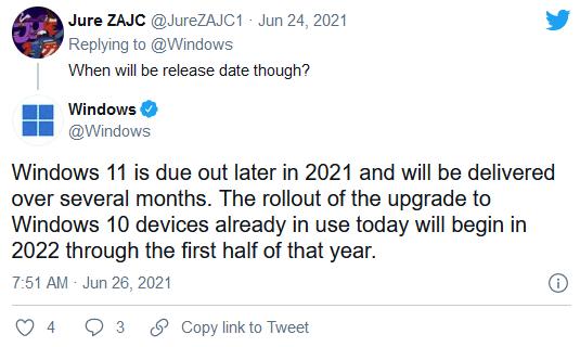 Win10设备到2022年才能获得Win11免费升级的照片 - 2