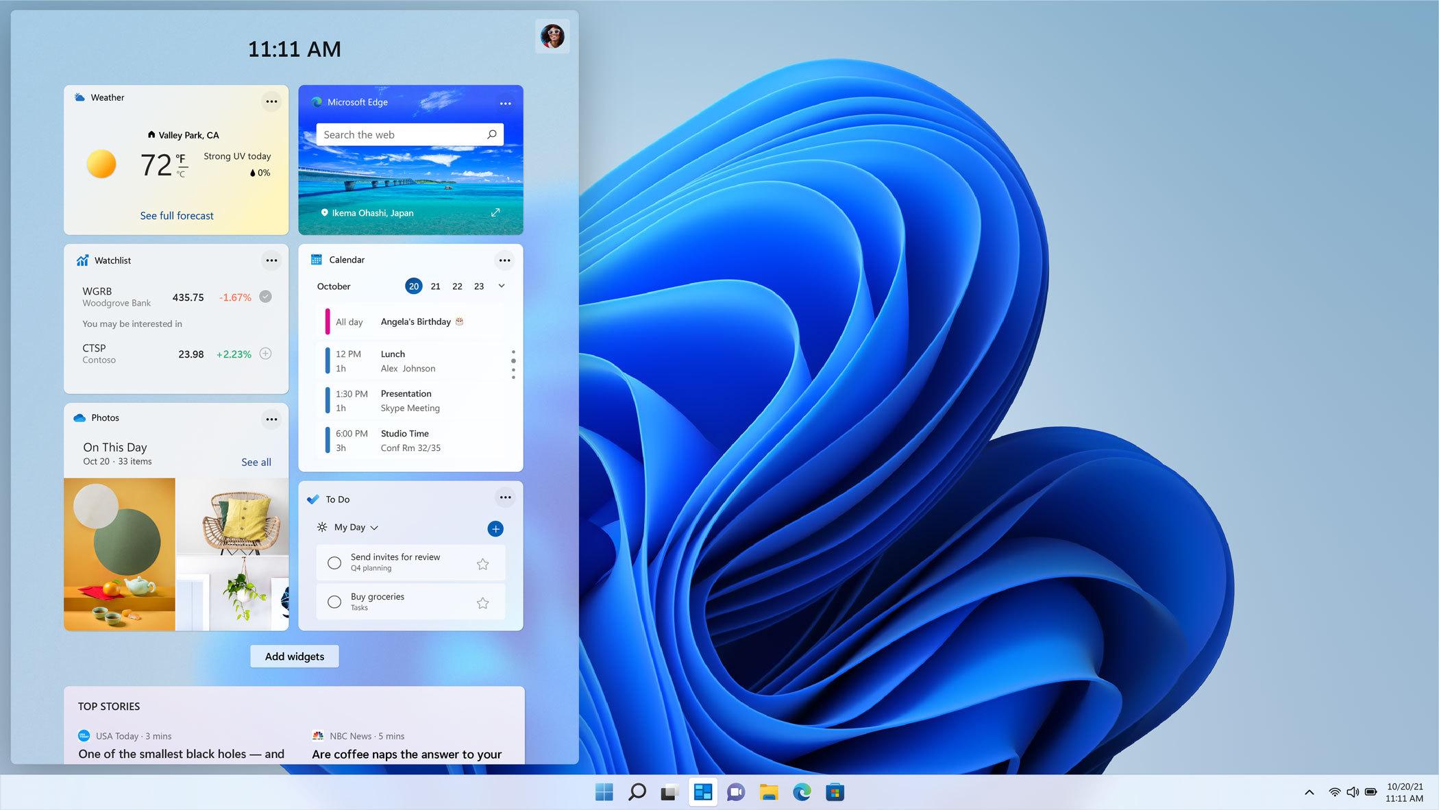 微软不断暗示Windows 11将于10月20日发布的照片 - 4