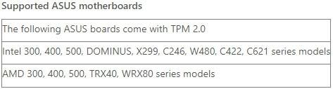 集成TPM 2.0 三大主板品牌支持Windows 11阵容公布的照片 - 2