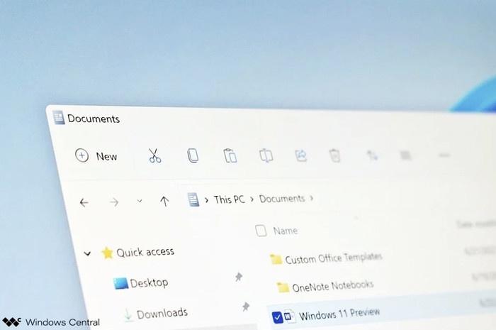 终于来了!Windows 11全新现代文件资源管理器一览的照片 - 2