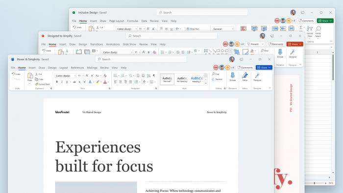 微软已向所有Insider测试者开放Office for Windows的新视觉体验的照片 - 1