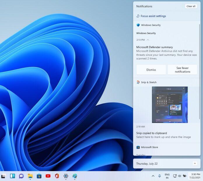 Win11 Build 22000.100发布:任务栏整合Teams聊天功能等的照片 - 6