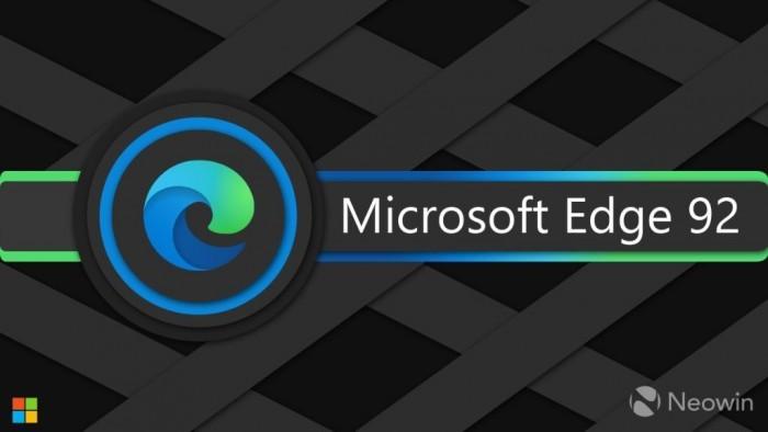 Microsoft Edge 92稳定版发布:引入密码健康控制台等新功能的照片 - 1