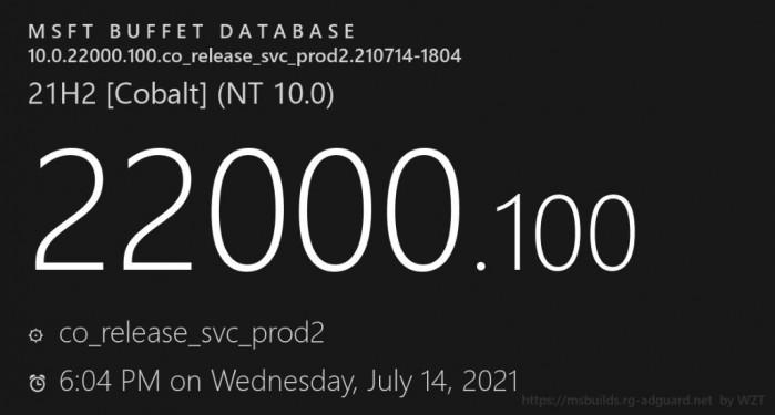 微软面向Beta频道Insider发布Win11 Build 22000.100预览版更新的照片 - 2