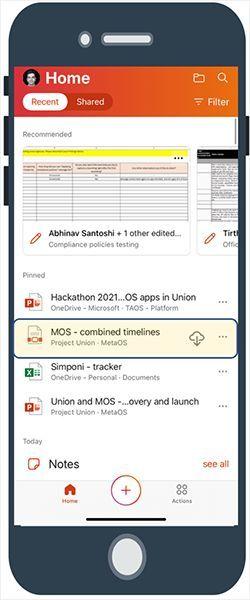 iOS端Office新预览版发布:引入离线PDF阅读等诸多新功能的照片 - 3