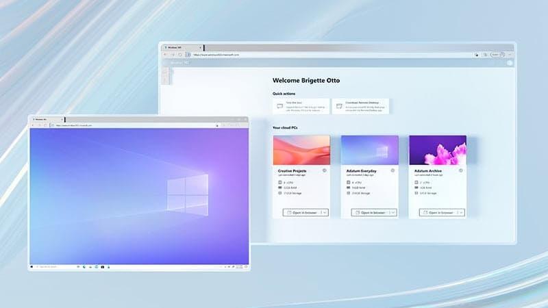 微软的Windows 365云电脑现在可供商业和企业客户使用的照片 - 1