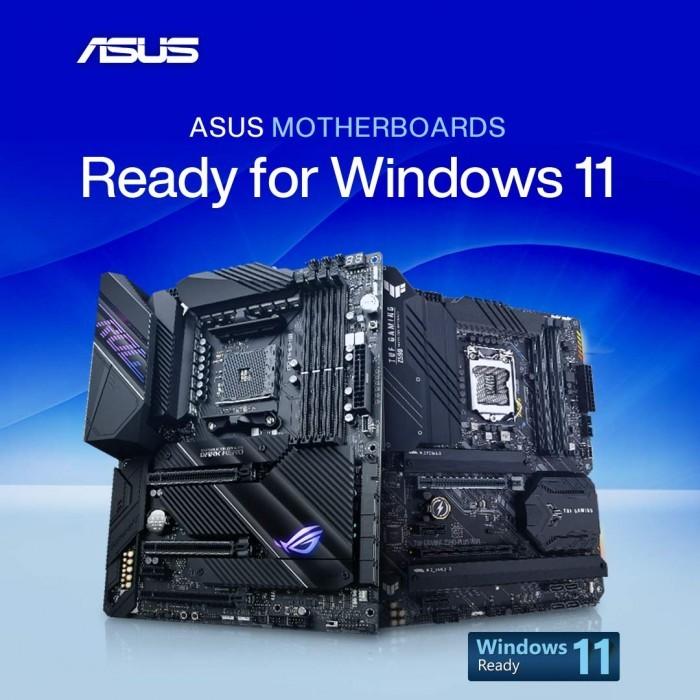 华硕开始推送适配Win11操作系统的主板固件更新的照片 - 2