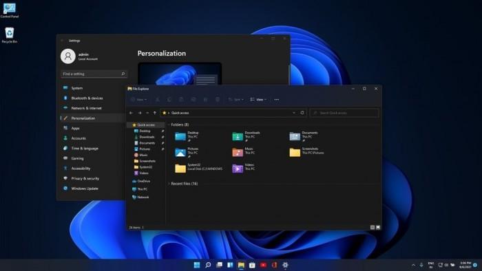 微软改善Win11圆角设计:修复窗口边框白色像素问题的照片 - 1