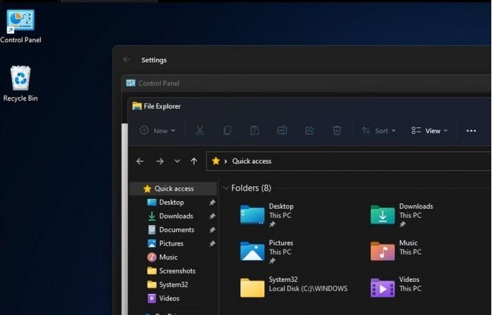 微软改善Win11圆角设计:修复窗口边框白色像素问题的照片 - 2