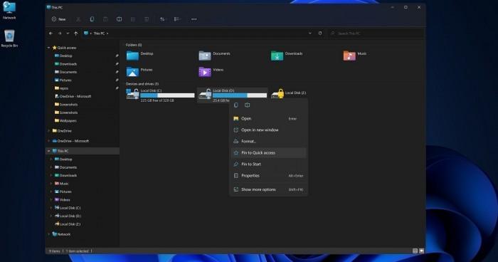 微软称Win11的新设计不会影响性能 Mica材质专为此优化的照片 - 2