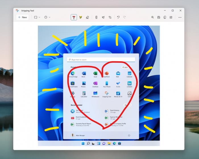 微软为Win11用户更新了剪贴工具、计算器以及邮件和日历应用的照片 - 3