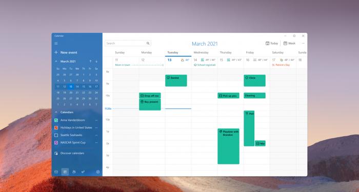 微软为Win11用户更新了剪贴工具、计算器以及邮件和日历应用的照片 - 8
