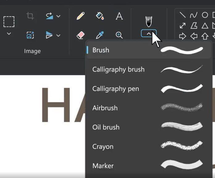 Windows 11将迎来全新设计的Paint应用程序的照片 - 6