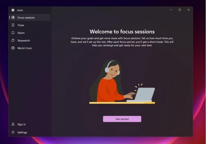 微软Clock应用引入Focus Sessions功能:帮你提高专注力和生产力的照片 - 2