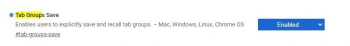 Google Chrome浏览器增加了保存标签组的选项的照片 - 3