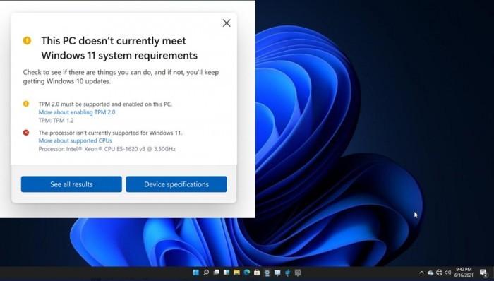 微软更新Win11最低系统需求 增加对部分旧处理器的支持的照片 - 1