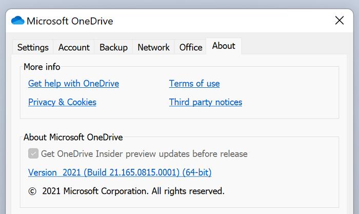 微软开始推送Windows 64位版OneDrive同步客户端的照片 - 2
