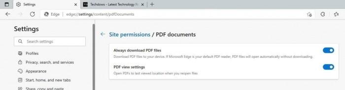 Microsoft Edge 95优化PDF阅读体验:打开时可恢复到上次离开的位置的照片 - 2