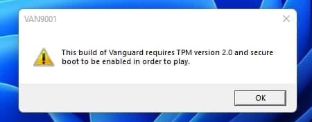 Valorant开始要求Win11玩家开启TPM与安全启动的照片 - 4