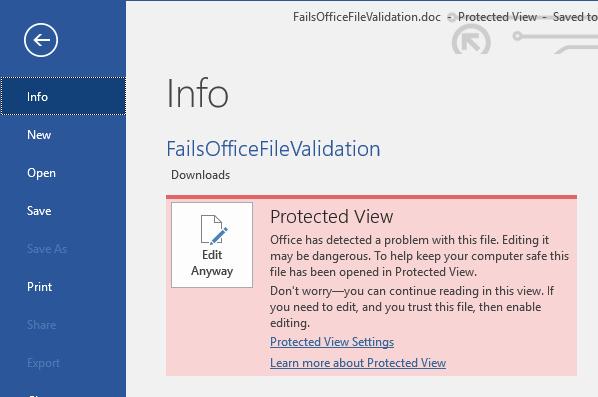 Office 365将允许管理员阻止受信任文档上的活动内容