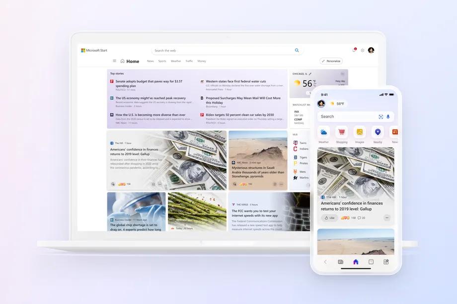 Microsoft Start上线:专为Win11、手机等设计的个性化新闻源的照片 - 3