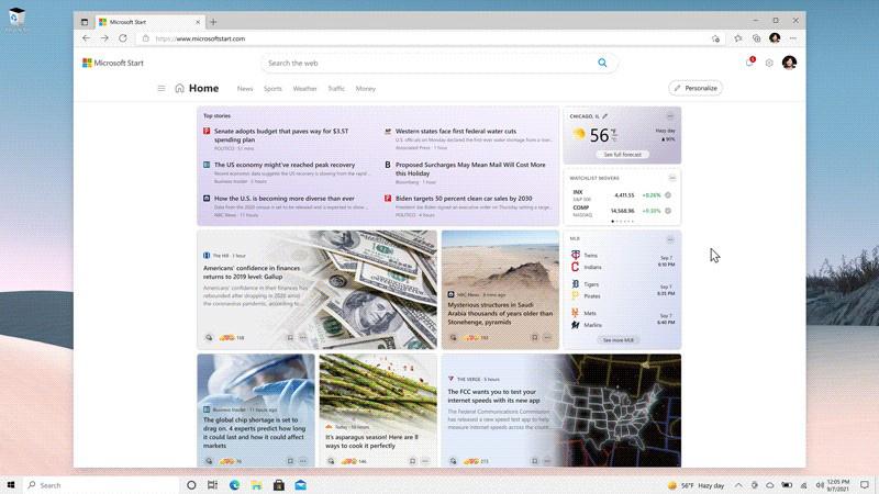 Microsoft Start上线:专为Win11、手机等设计的个性化新闻源的照片 - 1