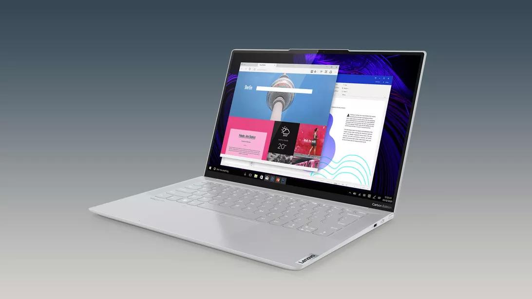 联想首款Windows 11笔记本IdeaPad Slim 7发布的照片 - 3