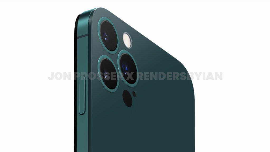 iPhone 14 Pro渲染图:打孔前摄 后摄近乎无凸起的照片 - 5