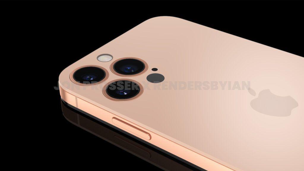 iPhone 14 Pro渲染图:打孔前摄 后摄近乎无凸起的照片 - 8