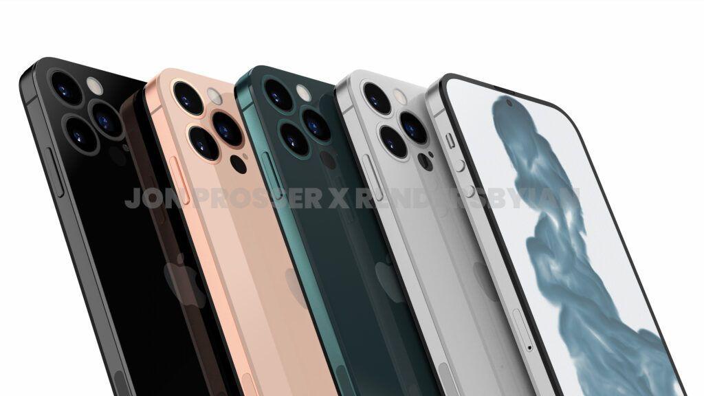 iPhone 14 Pro渲染图:打孔前摄 后摄近乎无凸起的照片 - 10