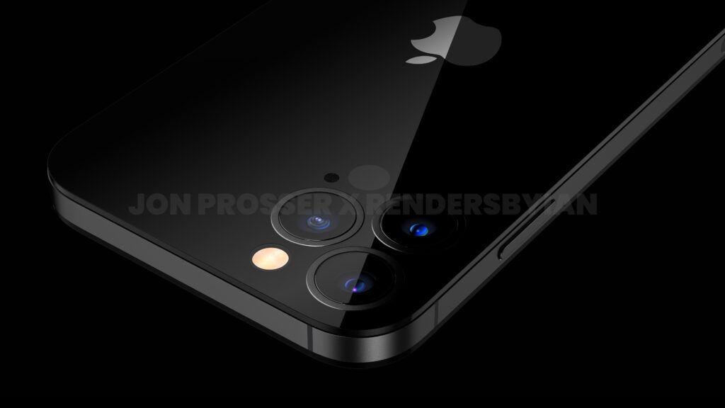 iPhone 14 Pro渲染图:打孔前摄 后摄近乎无凸起的照片 - 12
