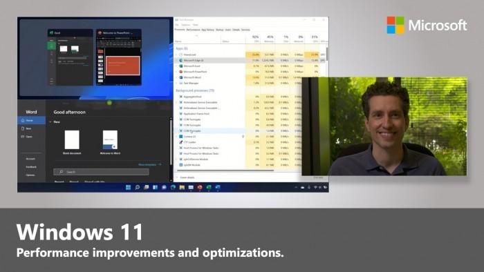 微软详述Win11如何优化系统资源并让PC跑得更畅快