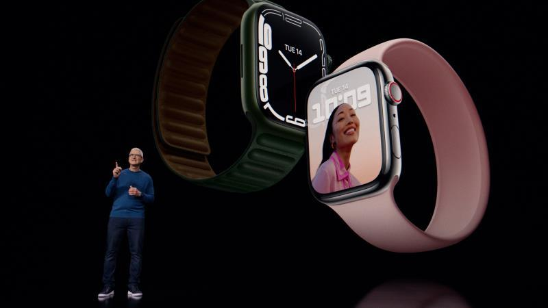 Apple Watch 7系列苹果智能手表发布:7年来首次大改的照片 - 1