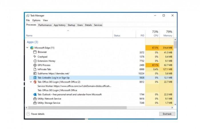 Windows 11任务管理器改进Edge进程显示:更易懂更易操作
