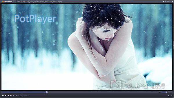 PotPlayer下载 PotPlayer 1.6.60136 美化绿色版下载