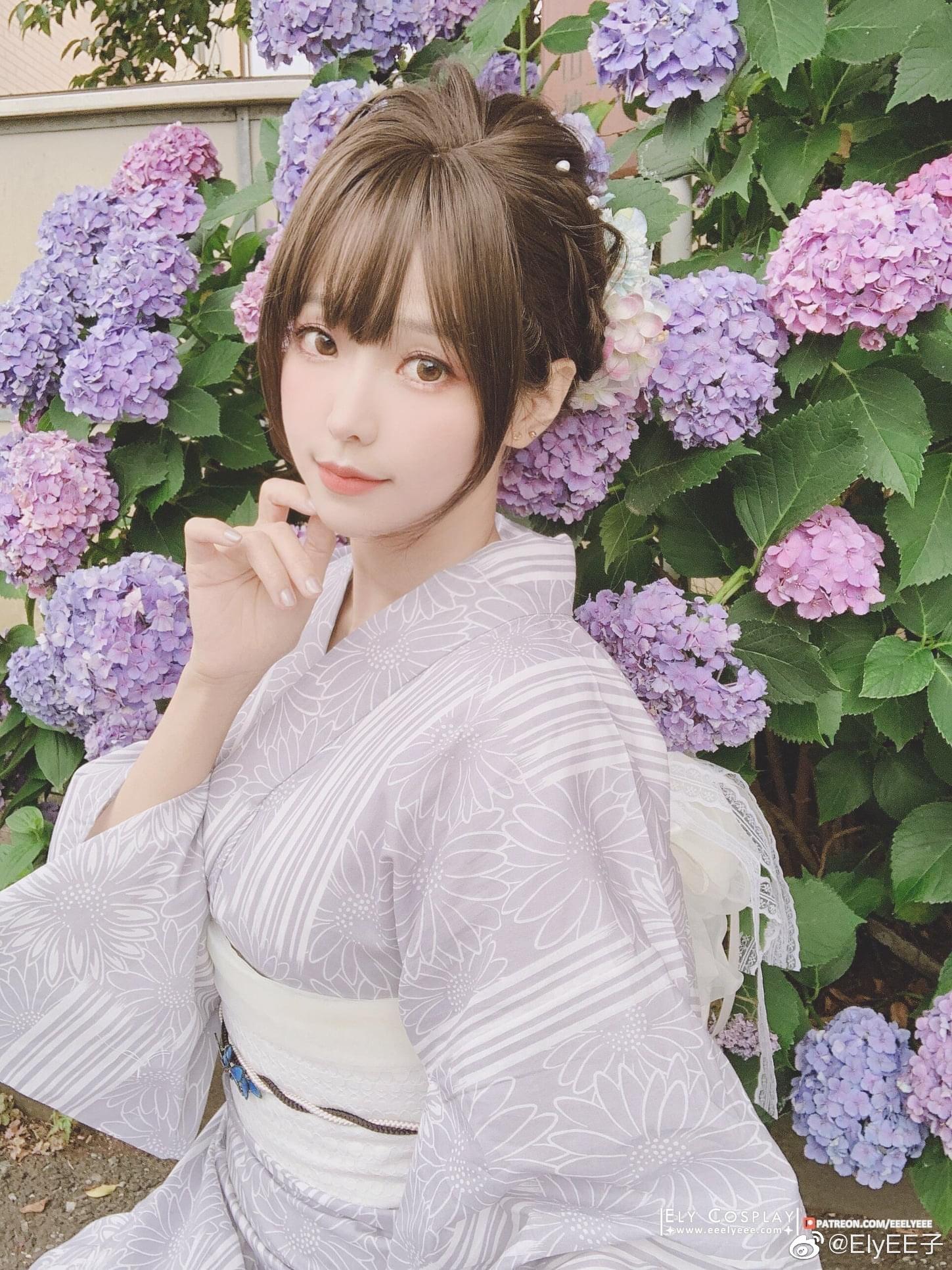 公主日记今年的紫陽花任務1/1✔️网页链接美女