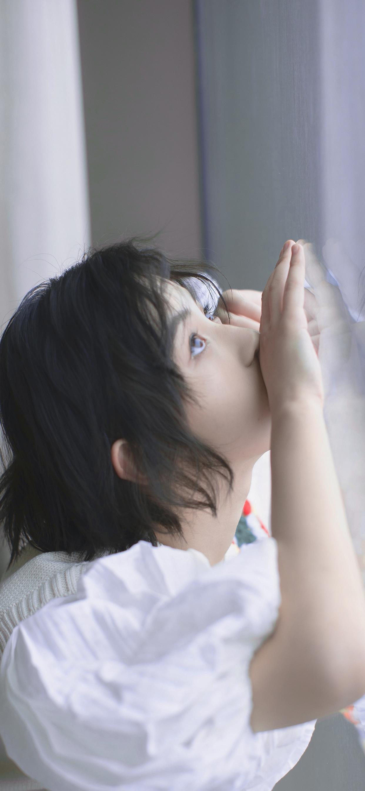 张子枫明星写真手机壁纸