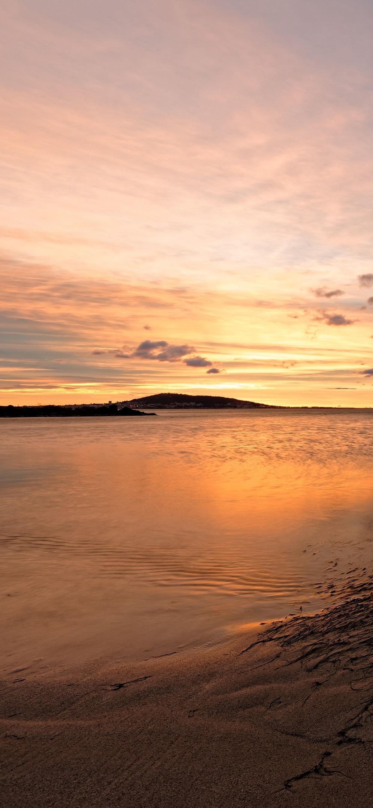 自然风景高清图片手机壁纸 大海的感觉真好!