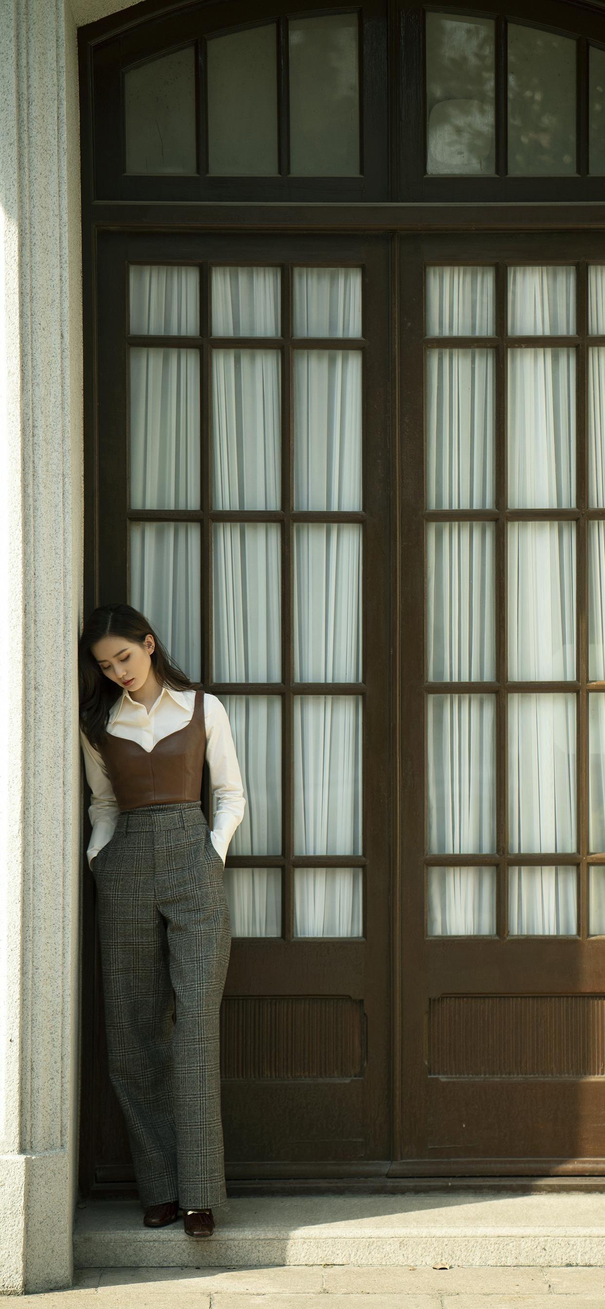 刘诗诗优雅气质写真手机壁纸