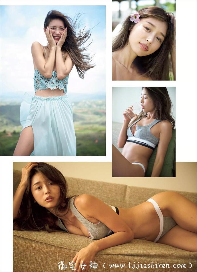 日本黄金腰臀比例「加治瞳」腰线臀型火辣程度堪称完美深受网友们的追捧, 最新性感写真集如同性感女神完美展现自身!